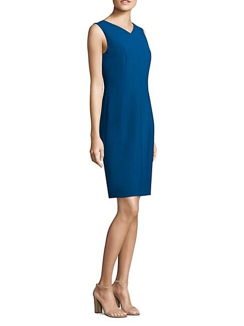 HUGO BOSS | Delafea Sheath Dress | Goxip