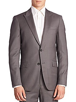 93dc65c49dc Theory. Malcolm Slim-Fit Pinstriped Suit Jacket