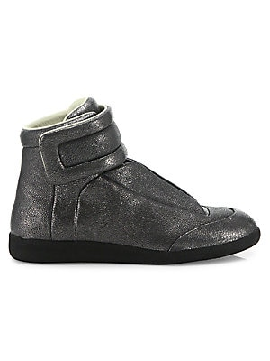 Stingray Future Leather High-Top Sneakers