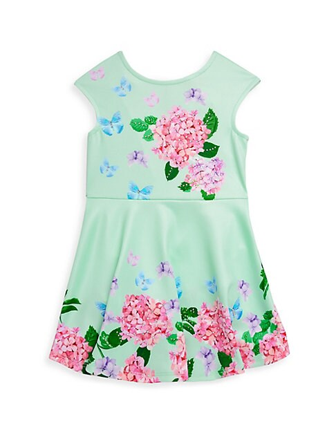 Little Girl's Floral Fit-&-Flare Dress
