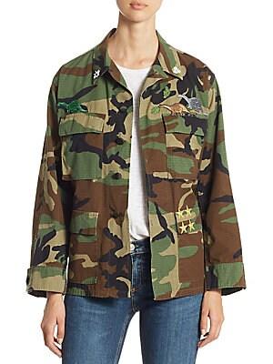 Camo Vintage Cotton Jacket
