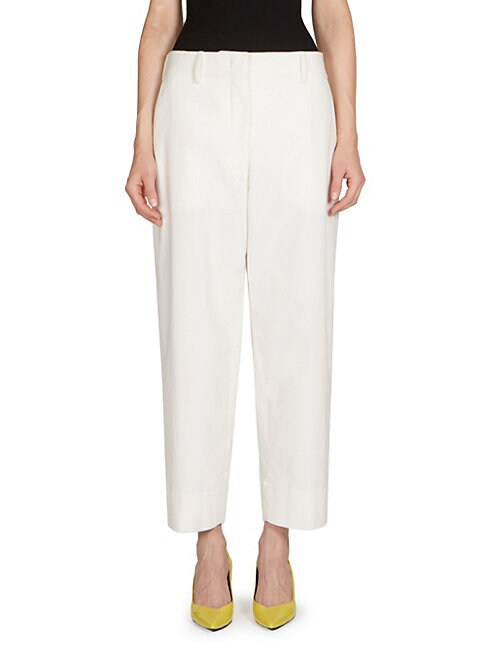 C DRIC CHARLIER | Cropped Corduroy Pants | Goxip