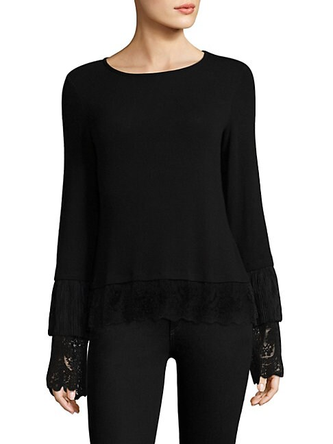 Fairy God Mother Lace Layer Top