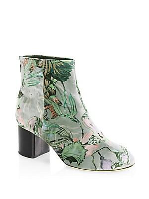 Drea Velvet Ankle Boots