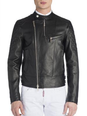 Viktor & Rolf Leather Biker Jacket