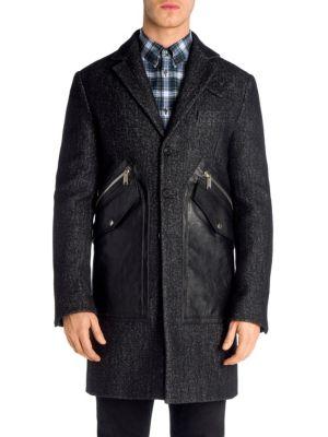 Viktor & Rolf Tweed Tokyo Wool Coat