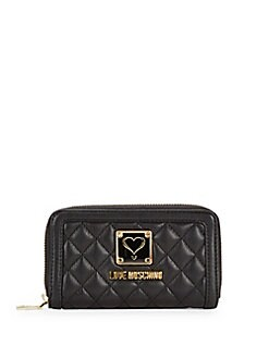 Love Moschino - Quilted Clutch