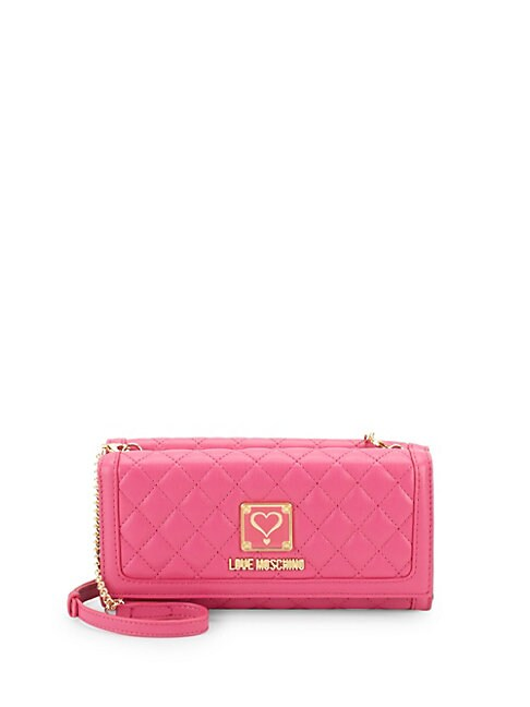 Quilted Chain Wallet