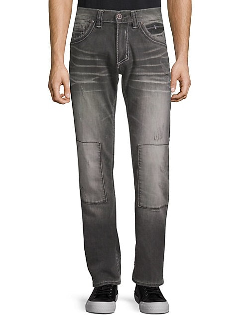 AFFLICTION | Ace Fleur Washed Jeans | Goxip
