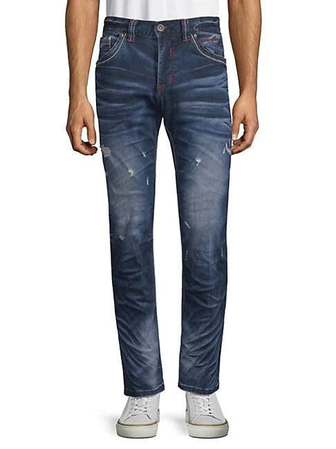 AFFLICTION   Gage Fleur Trenton Slim Jeans   Goxip