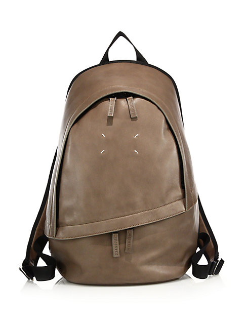 Clean Leather Backpack