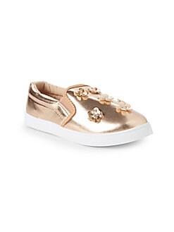 Nicole Miller New York - Little Girl's & Girl's Vanessa Slip-On Sneakers