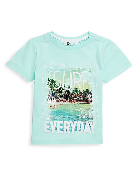 Little Boy's Cotton Surf Everyday Tee