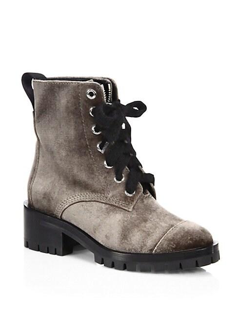 Hayett Velvet Boots