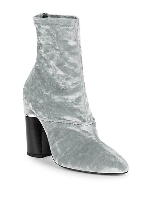 Kyoto Velvet Ankle Boot