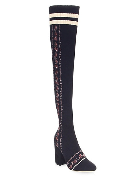 Tabitha Simmons  Irina Over-The-Knee Knit Boots