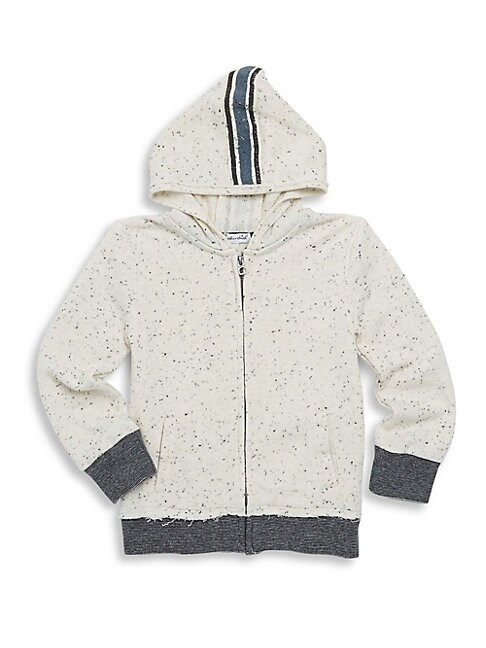 LITTLE BOY'S SPECKLED HOODIE