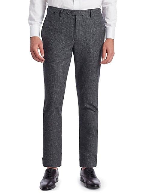 Paul Houndstooth Wool Pants