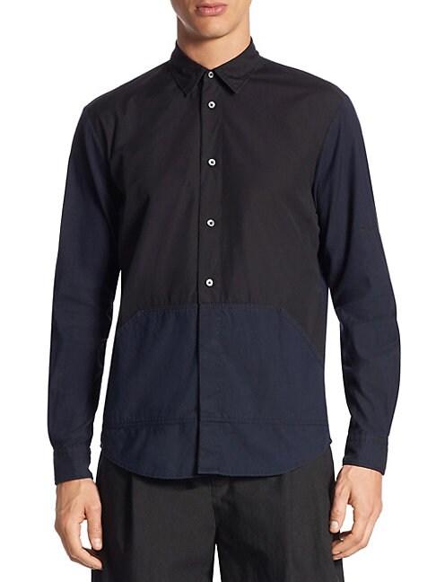 Darkbrook Cotton Button-Down Shirt