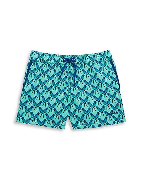 Little Boy's Parrot Swim Shorts