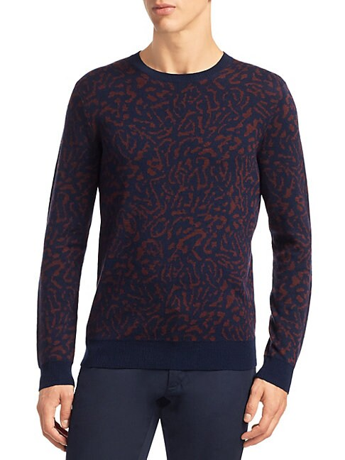 MODERN Animal-Print Sweater