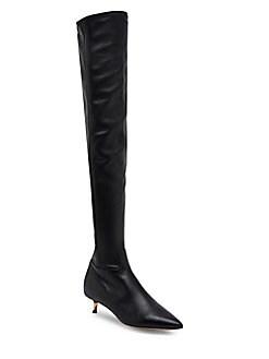 Valentino Garavani - Leather Over-The-Knee Boots