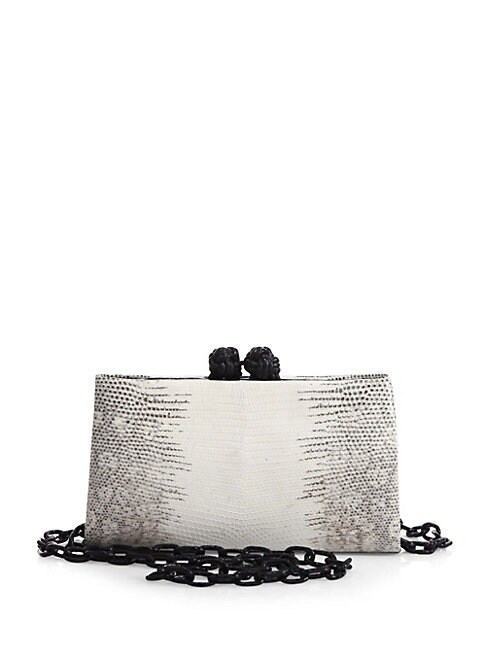 FRAME CROCODILE & LIZARD CLUTCH