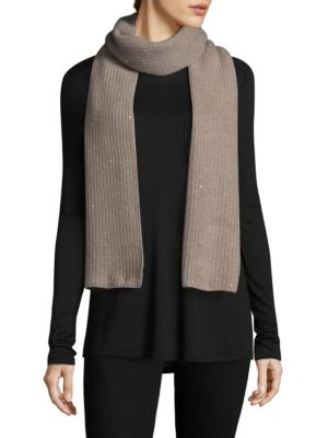 PORTOLANO Embellished Long Scarf
