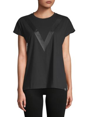 Lazy Day Short-Sleeve Top, Black