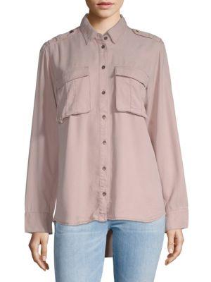 Pistola Hi-Lo Button-Down Shirt