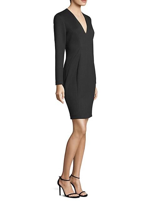 Prisha Long-Sleeve Mini Dress Dress