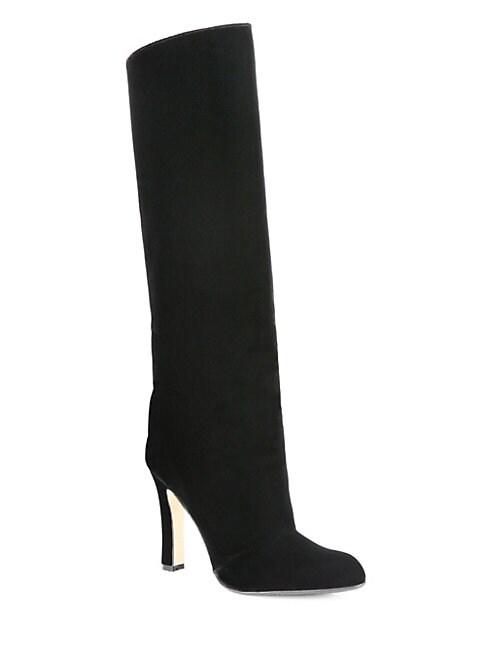 Khomo 105 Tall Velvet Boots