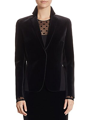 Velvet Jersey Jacket