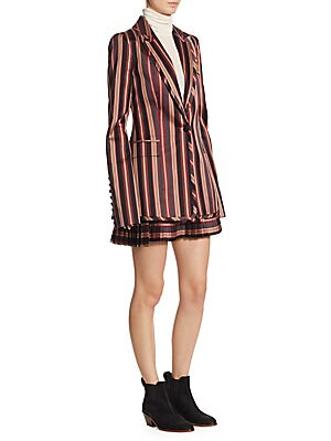 Folly Uniform Stripe Blazer