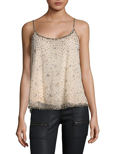 Garlen Sequined Star Top