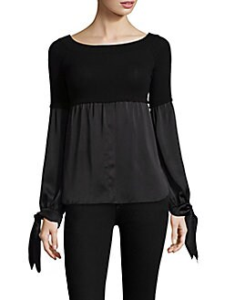 Bailey 44 Woman Ribbed Cotton-blend Top Black Size XS Bailey 44 Sale Free Shipping Buy Cheap Purchase Outlet Visit New Pick A Best Cheap With Mastercard dMMHpLEo