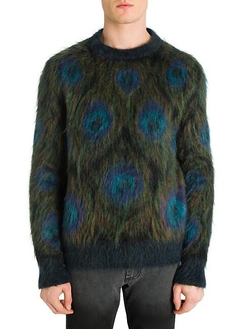 Peacock Crewneck Sweater