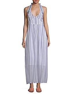 fd3f4807c69d RAGA. Setting Striped Maxi Dress