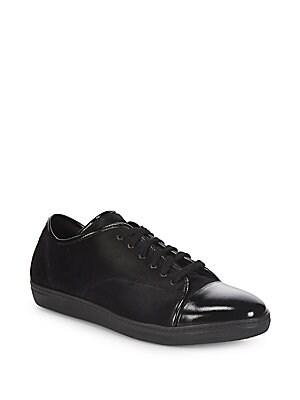 Classic Fur Sneakers, Black