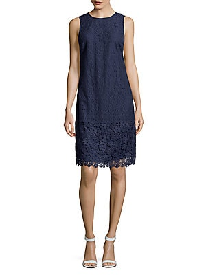 Lace Shift Dress by Karl Lagerfeld Paris