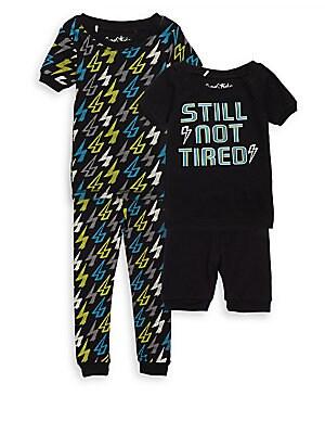 Little Boys FourPiece Still Not Tiered Pyjama Set