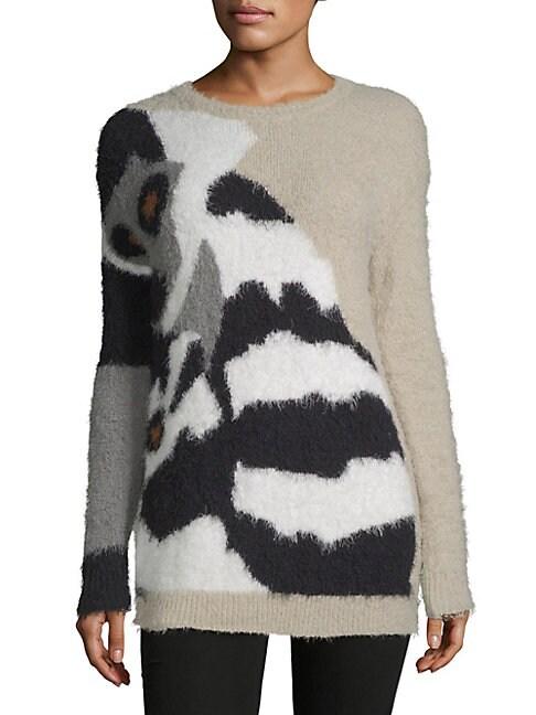 Sabina Graphic Sweater