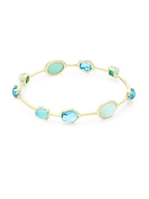 Rock Candy Multi-Stone and 18K Gold Bracelet