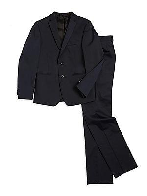 Boys SkinnyFit Suit Jacket and Pleated Dress Pants