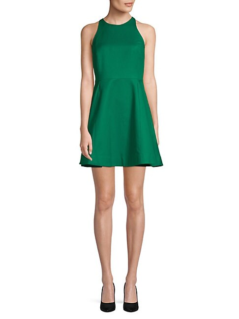 Flared Fit-and-Flare Dress