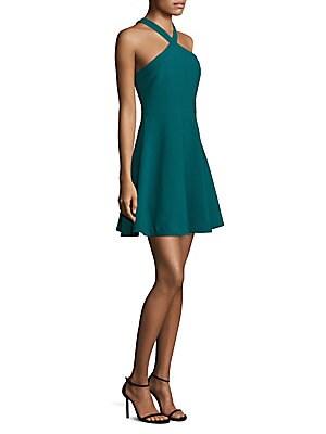 Ashland Halterneck A-Line Dress