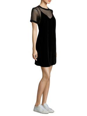 3x1 Ellie Velvet Slip Dress