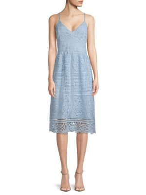 Abs By Allen Schwartz Lace Day Dress