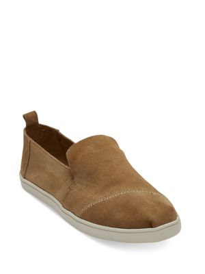 Deconstructed Alpargata Slip-On Sneakers, Toffee
