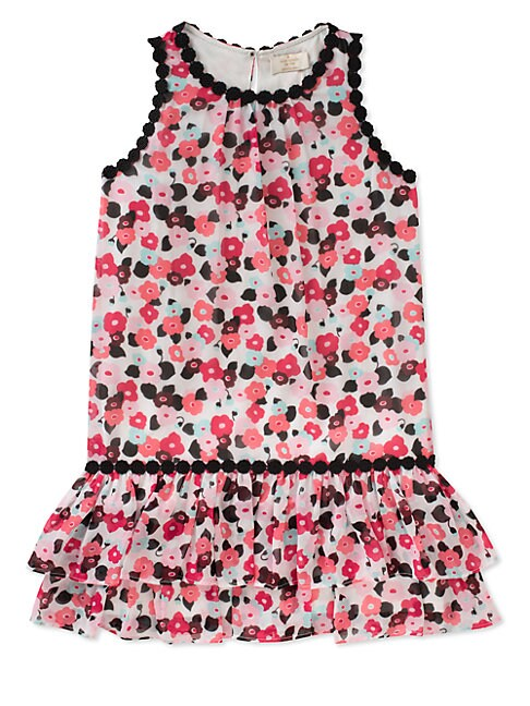 Girl's Blooming Floral Dress